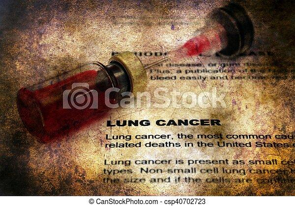 肺, 概念, グランジ, がん - csp40702723