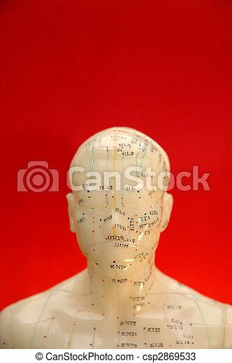 背景, 刺鍼術 - csp2869533