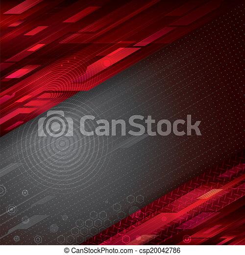 背景, 技術, 抽象的 - csp20042786