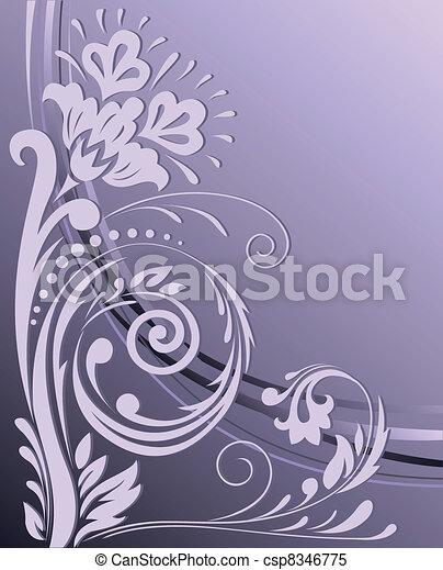 背景, 紫色 - csp8346775