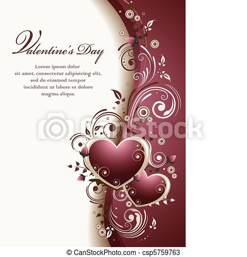 背景, valentine - csp5759763