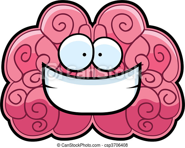脳, 微笑 - csp3706408