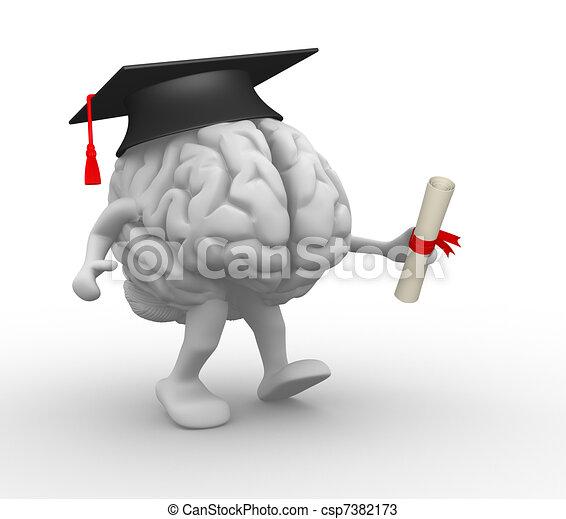 脳 - csp7382173