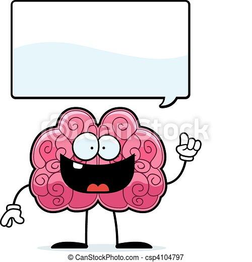 脳, 考え - csp4104797
