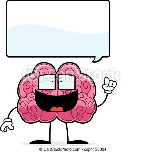 脳, 考え - csp4133004
