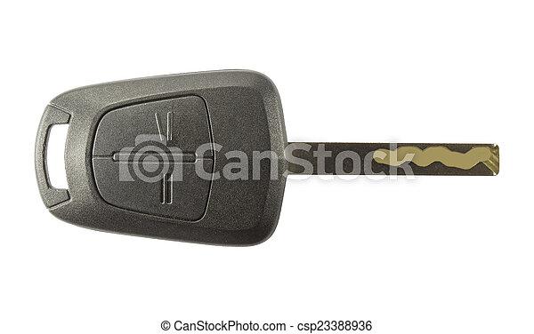 自動車のキー - csp23388936