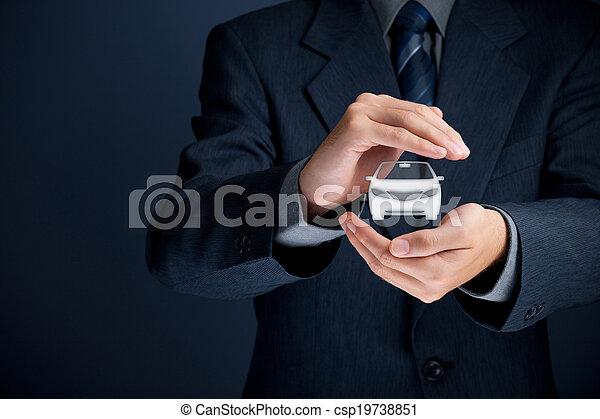 自動車保険 - csp19738851