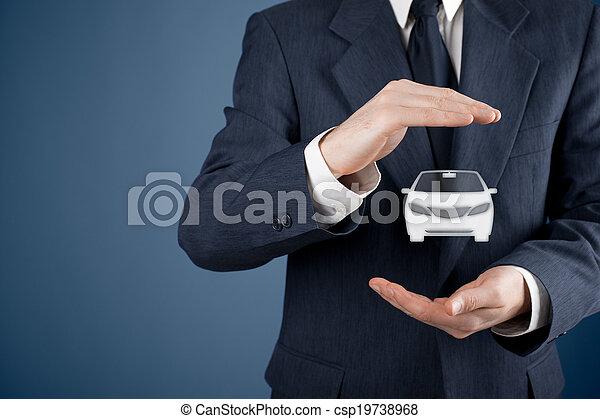 自動車保険 - csp19738968
