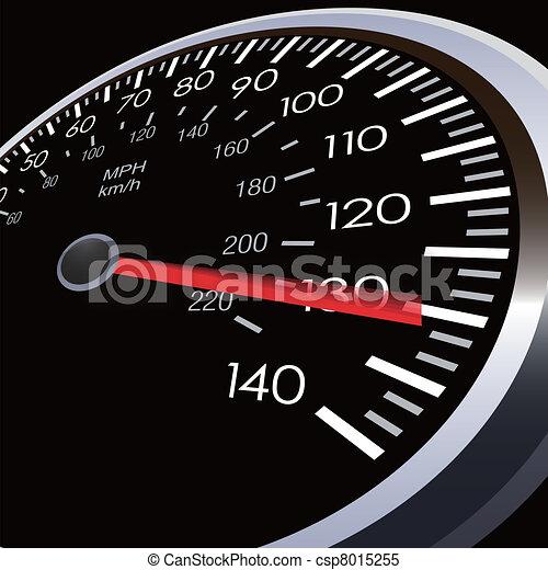 自動車, スピード, メートル - csp8015255