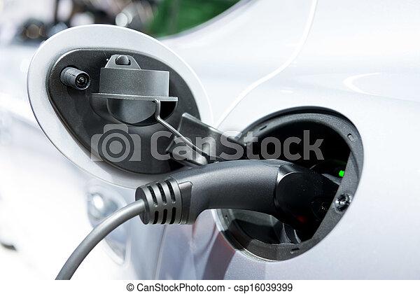 自動車, 充満, ハイブリッド - csp16039399