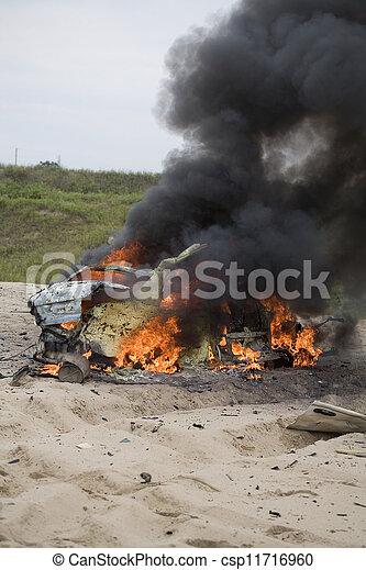 自動車, 残物, 爆弾 - csp11716960