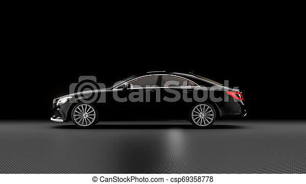 自動車, 贅沢, 背景 - csp69358778
