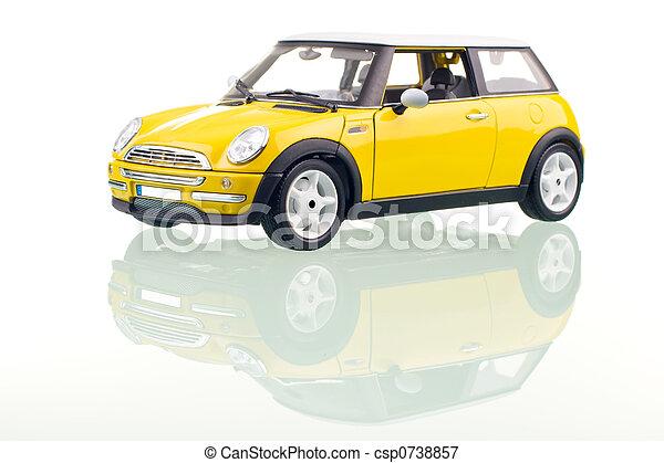 自動車, 黄色 - csp0738857