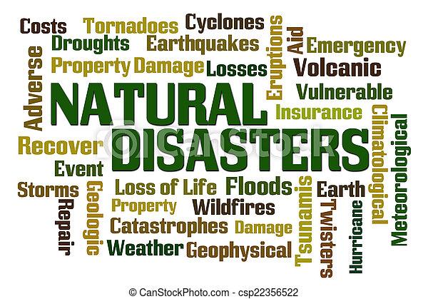 自然災害 - csp22356522