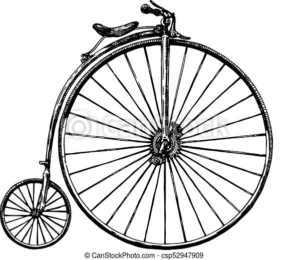 自転車 レトロ イラスト 使われた 自転車 1870s 自転車 イラスト