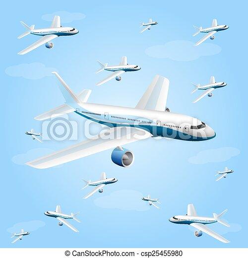 航空機 イラスト 航空機 ベクトル イラスト Art