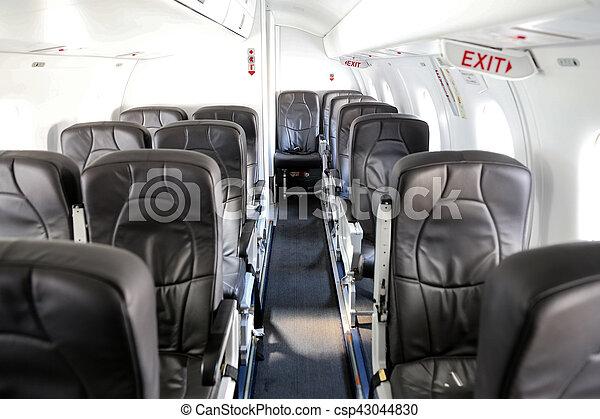航空機, 飛行機の 小屋 - csp43044830