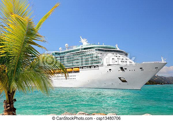船の 巡航 - csp13480706