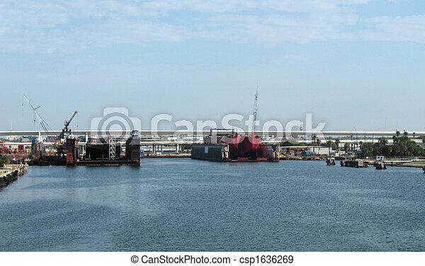 船塢, tampa, 區域 - csp1636269