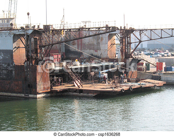 船塢, tampa, 區域 - csp1636268