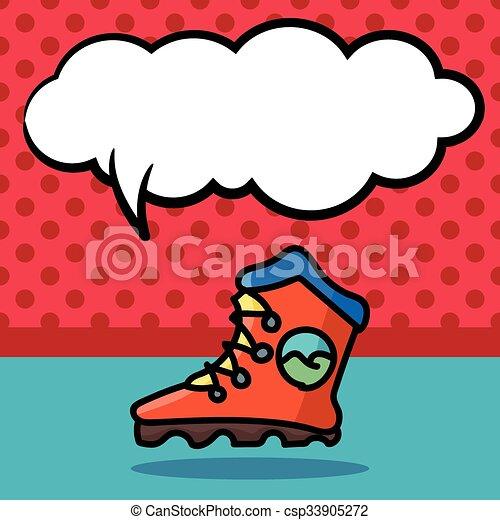 色, いたずら書き, スケート, ローラー - csp33905272