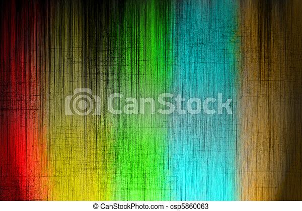 色, グランジ, 背景 - csp5860063