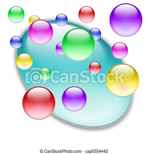 色, ボール, 09 - csp0354442
