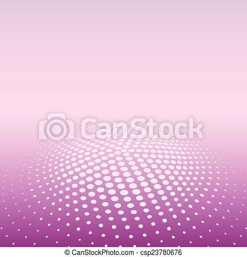 色, 放射状, halftone, バックグラウンド。 - csp23780676