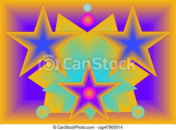 色, 背景, 幸せ - csp47900014