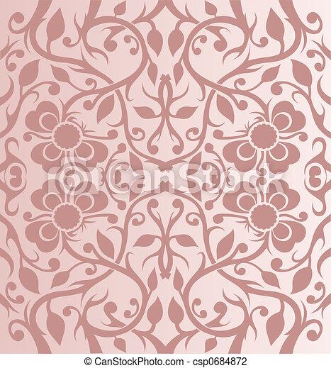 花のパターン - csp0684872