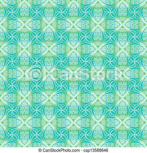 花のパターン, 飾られた - csp13588646