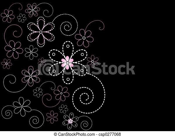 花の意匠 - csp0277068