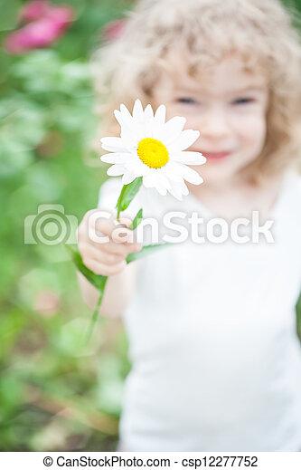 花の 子供 - csp12277752