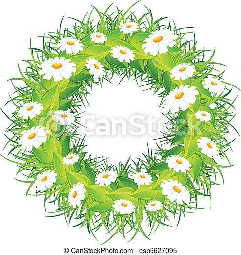 花冠, 花, 輪 - csp6627095