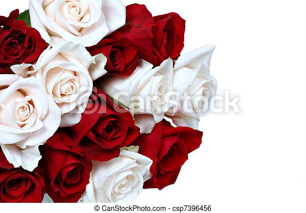 花束, バラ - csp7396456