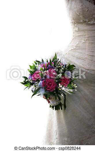 花束, 婚禮 - csp0828244