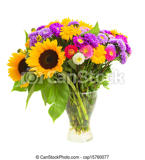花束, 秋, 花 - csp15760077