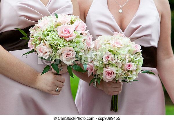 花束, 結婚式 - csp9099455