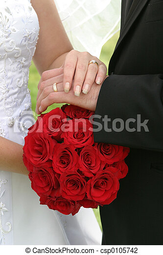 花束, 結婚式 - csp0105742