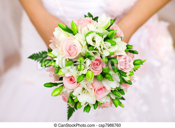 花束, 花嫁 - csp7986760