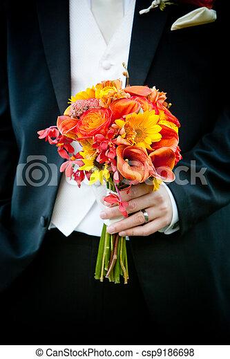 花束, 花 - csp9186698