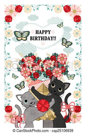 花束, birthday, 幸せ - csp25106939