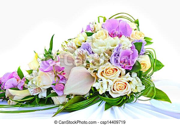花束, bridal - csp14409719