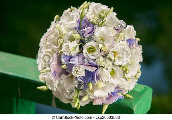 花束, bridal - csp28503588
