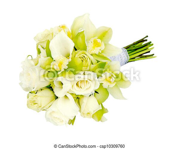 花束, bridal, 結婚式 - csp10309760