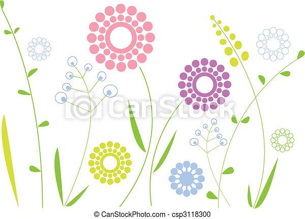 花, 春天 - csp3118300