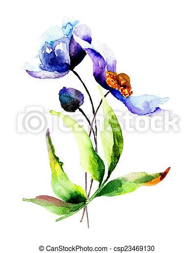 花, 春 - csp23469130