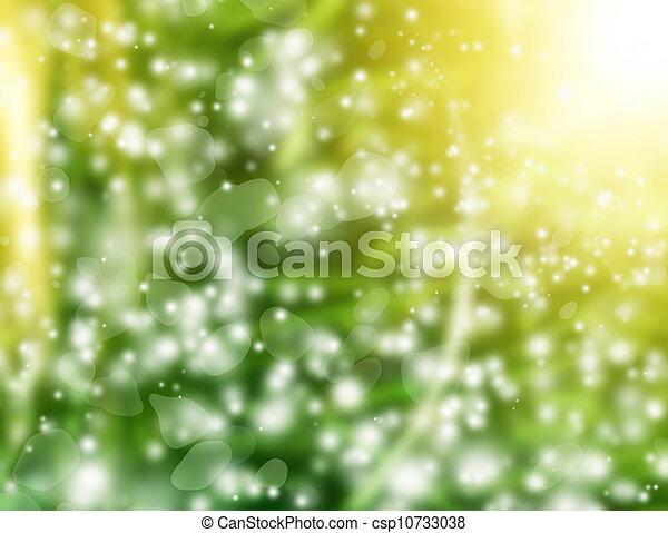 花, 春, 背景 - csp10733038