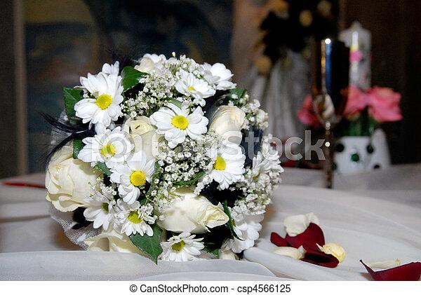 花, 結婚式 - csp4566125