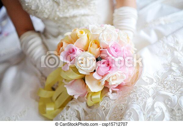 花, 結婚式 - csp15712707